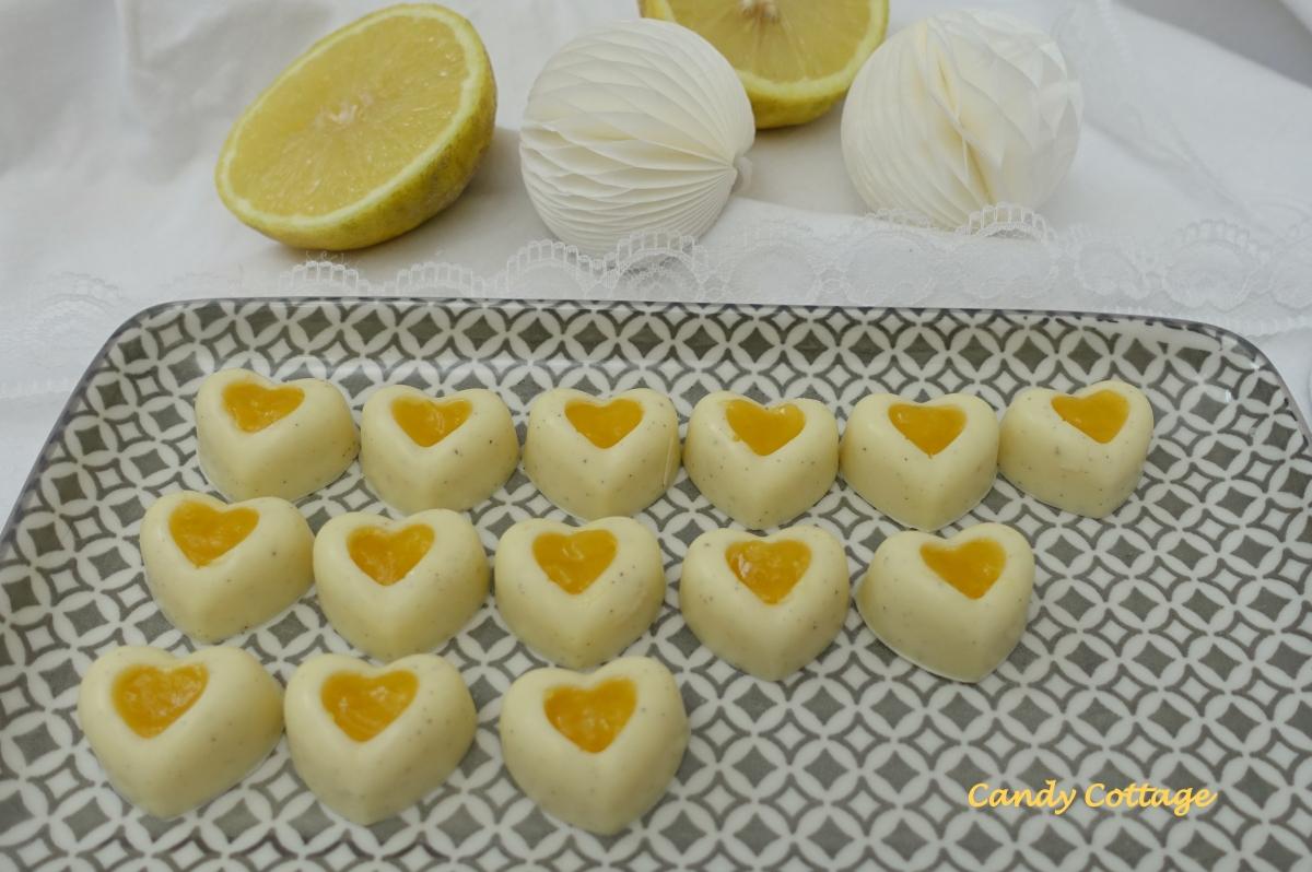 Lemon Curd Herzen