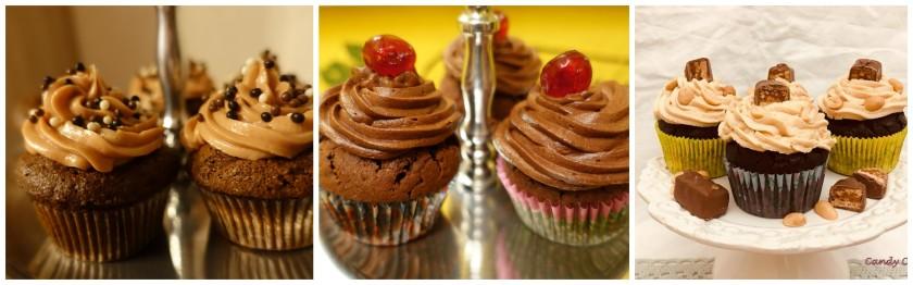 Cupcakes-Kollage