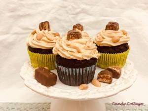 Erdnussbutter-Salscaramel Cupcakes2